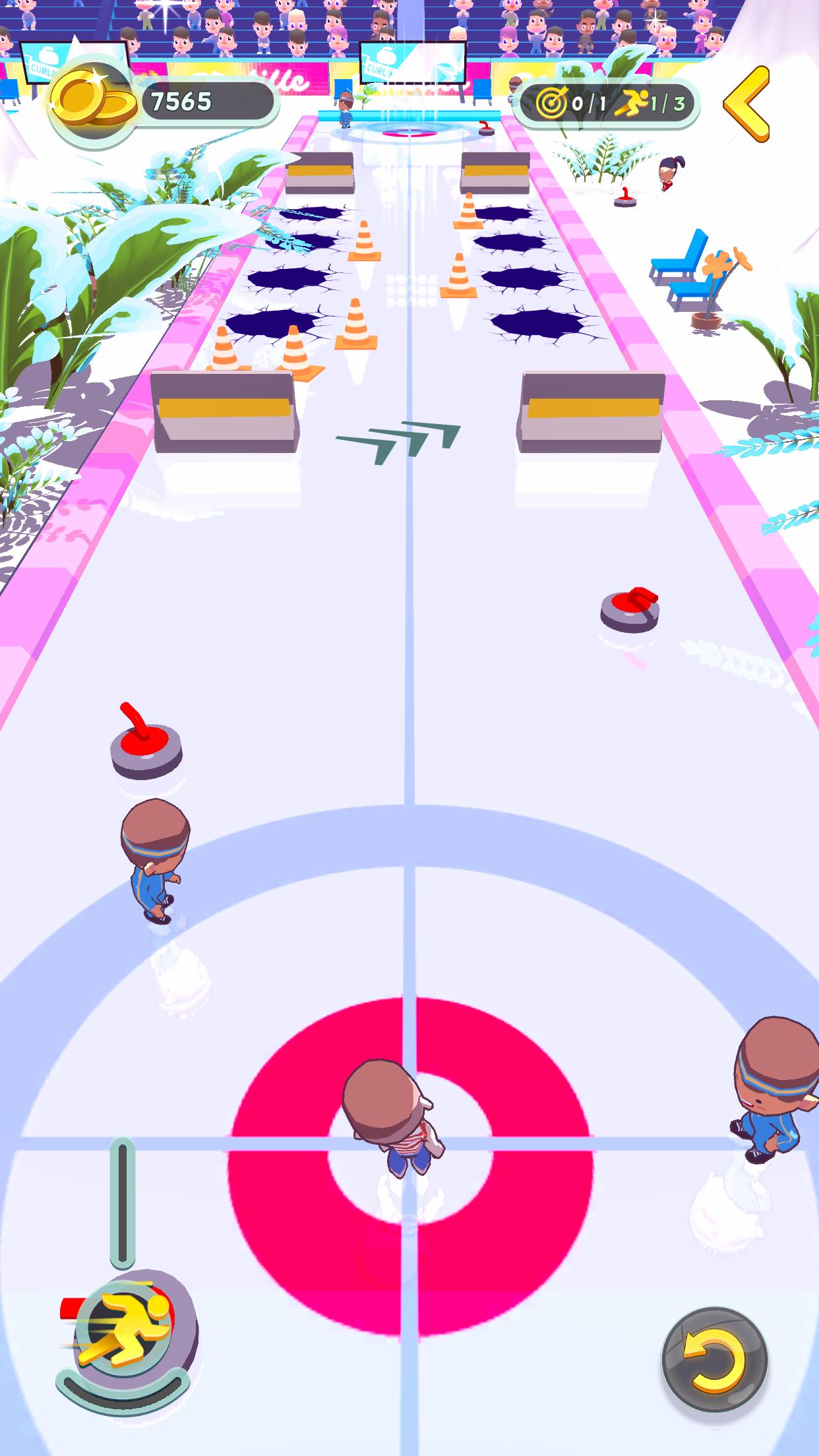 Curling level